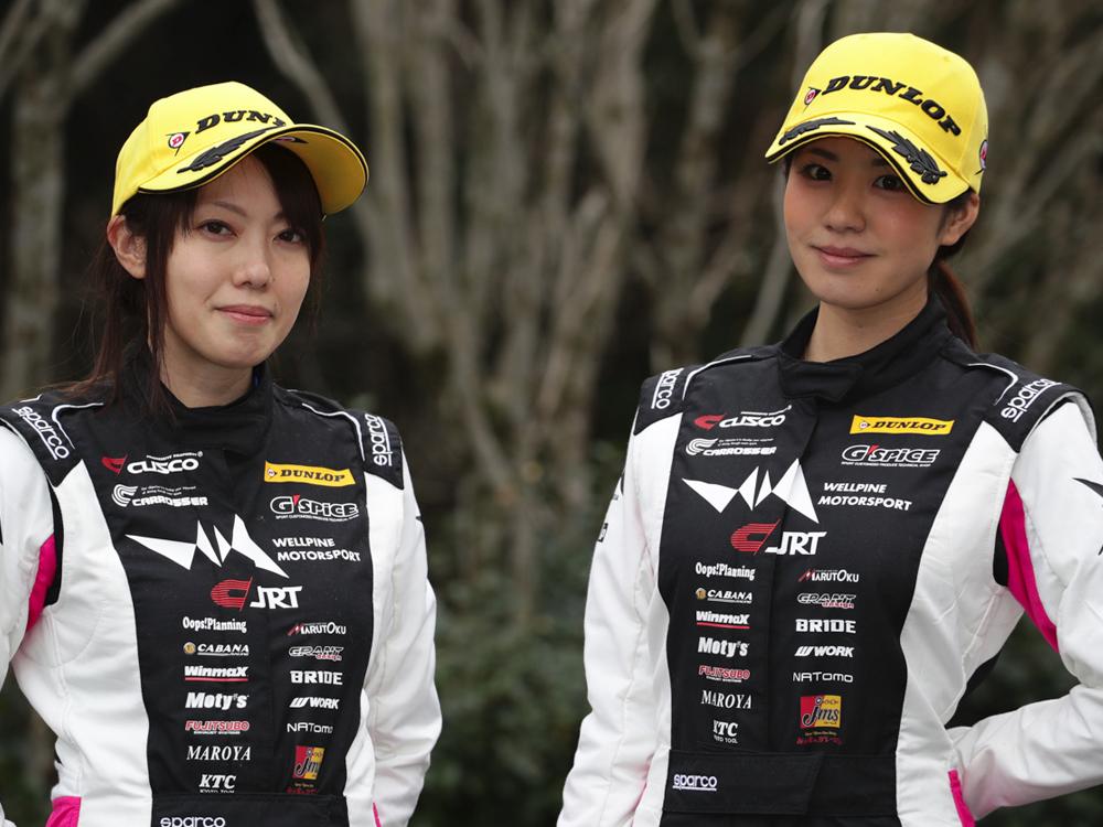 全日本ラリー選手権 板倉麻美選手と梅本まどか選手