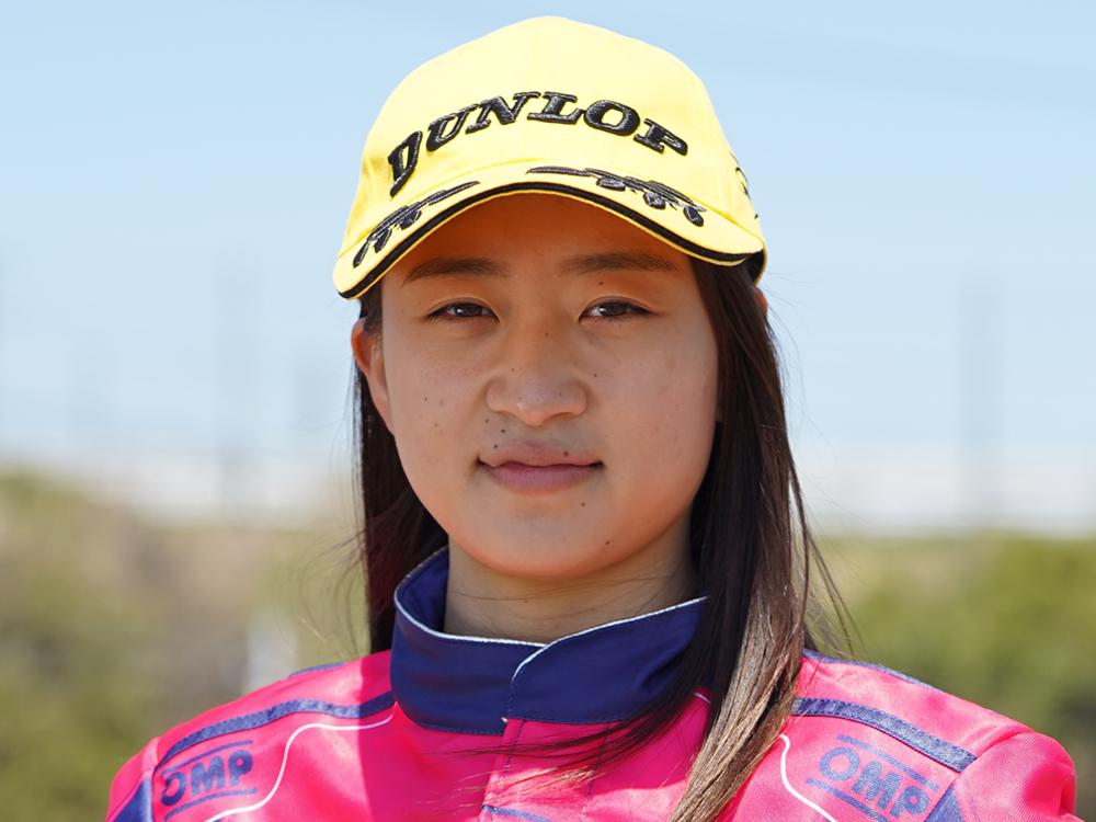 全日本カート選手権 奥田もも選手